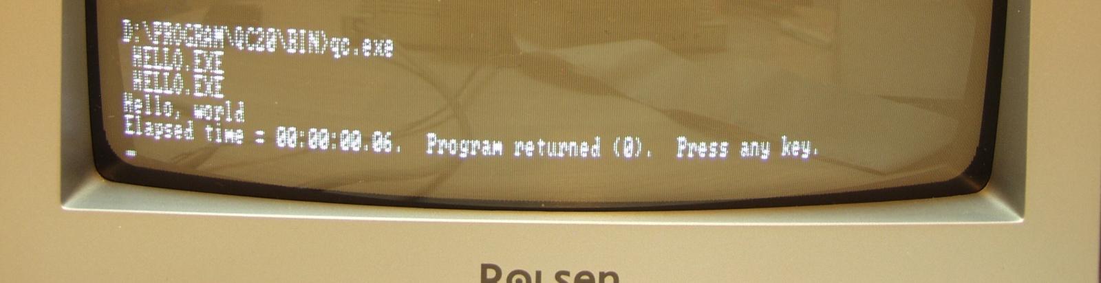 Итальянская IBM-PC Olivetti Prodest PC1 HD - 19