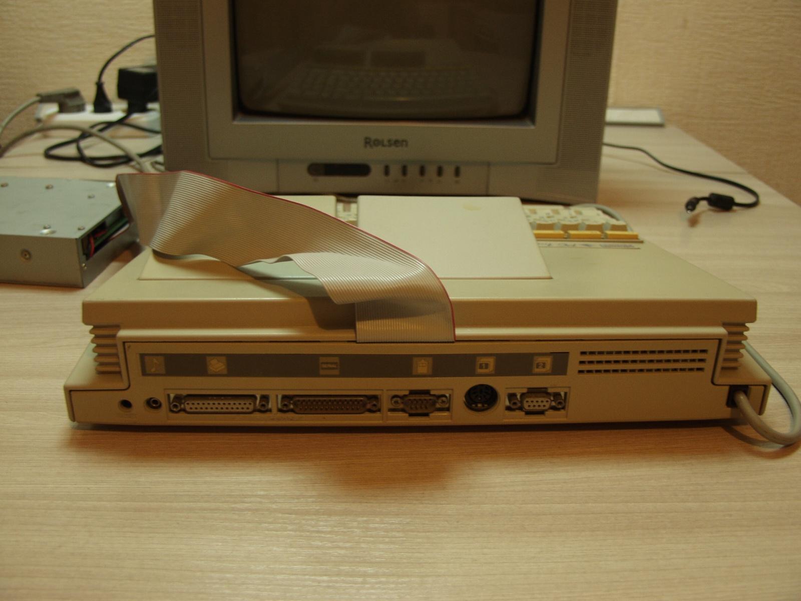 Итальянская IBM-PC Olivetti Prodest PC1 HD - 3