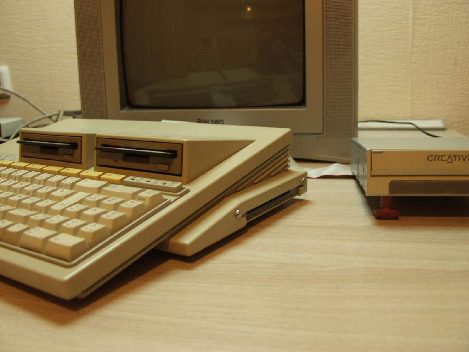 Итальянская IBM-PC Olivetti Prodest PC1 HD - 6