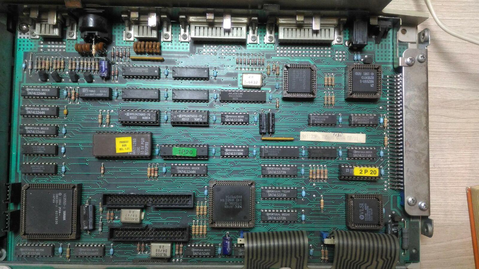Итальянская IBM-PC Olivetti Prodest PC1 HD - 7