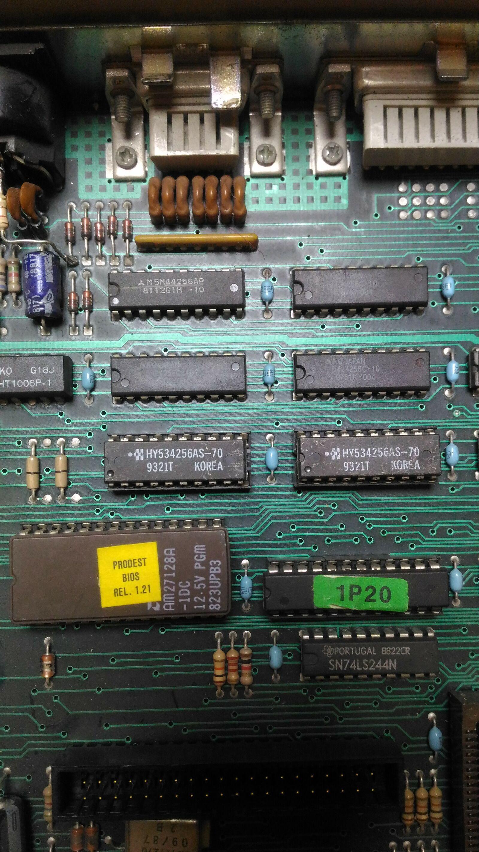 Итальянская IBM-PC Olivetti Prodest PC1 HD - 9