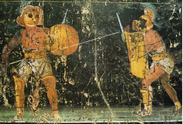 Прискус против Веруса — самый известный бой гладиаторов в истории - 4
