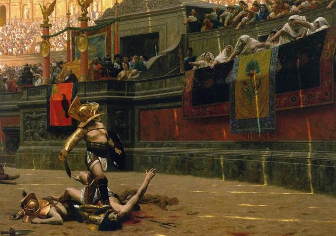 Прискус против Веруса — самый известный бой гладиаторов в истории - 6