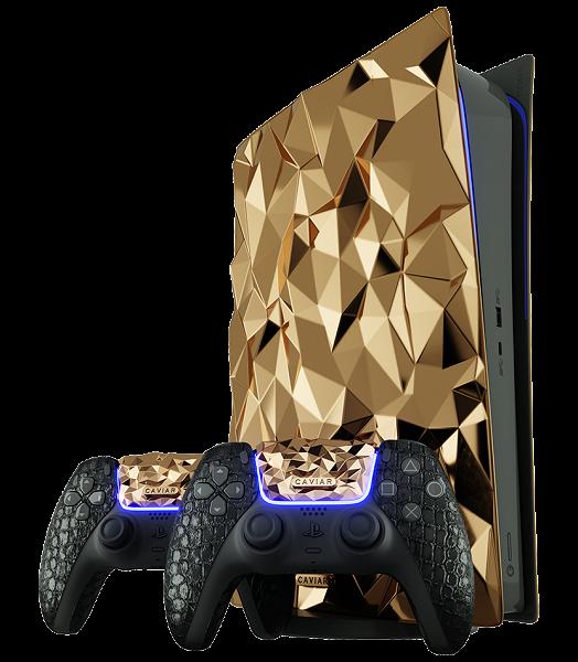 Такую Sony PlayStation 5 мы ещё не видели. «Золотой камень» весом 20 кг