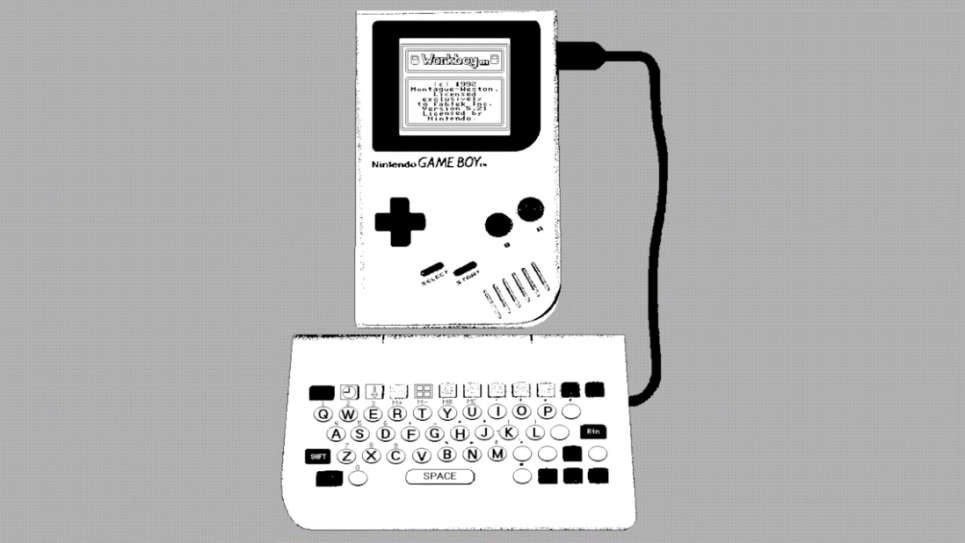 WorkBoy, клавиатуру для GameBoy, превращающую его в КПК, нашли и протестировали спустя 28 лет после анонса - 1