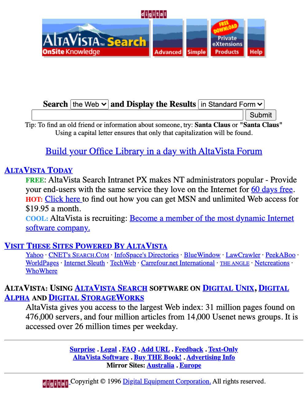 История AltaVista и сохранение прошлого Интернета - 2
