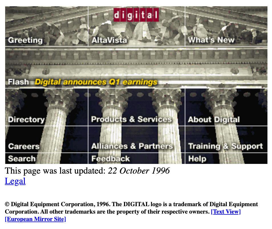 История AltaVista и сохранение прошлого Интернета - 4