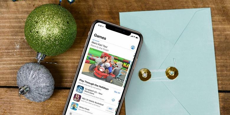 На Рождество на мобильные приложения было потрачено 407 млн долларов