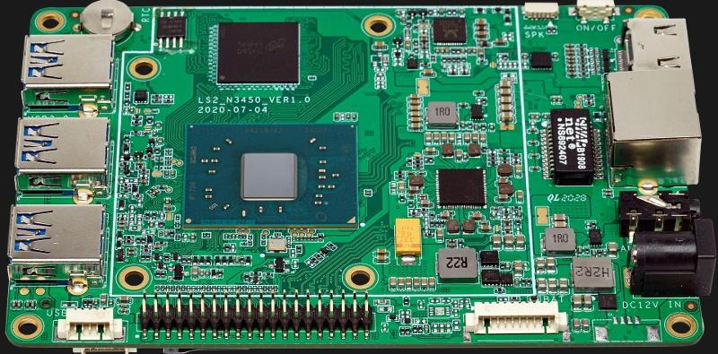 Hackboard 2: одноплатник для разработчиков с x86-процессором за $99 - 1