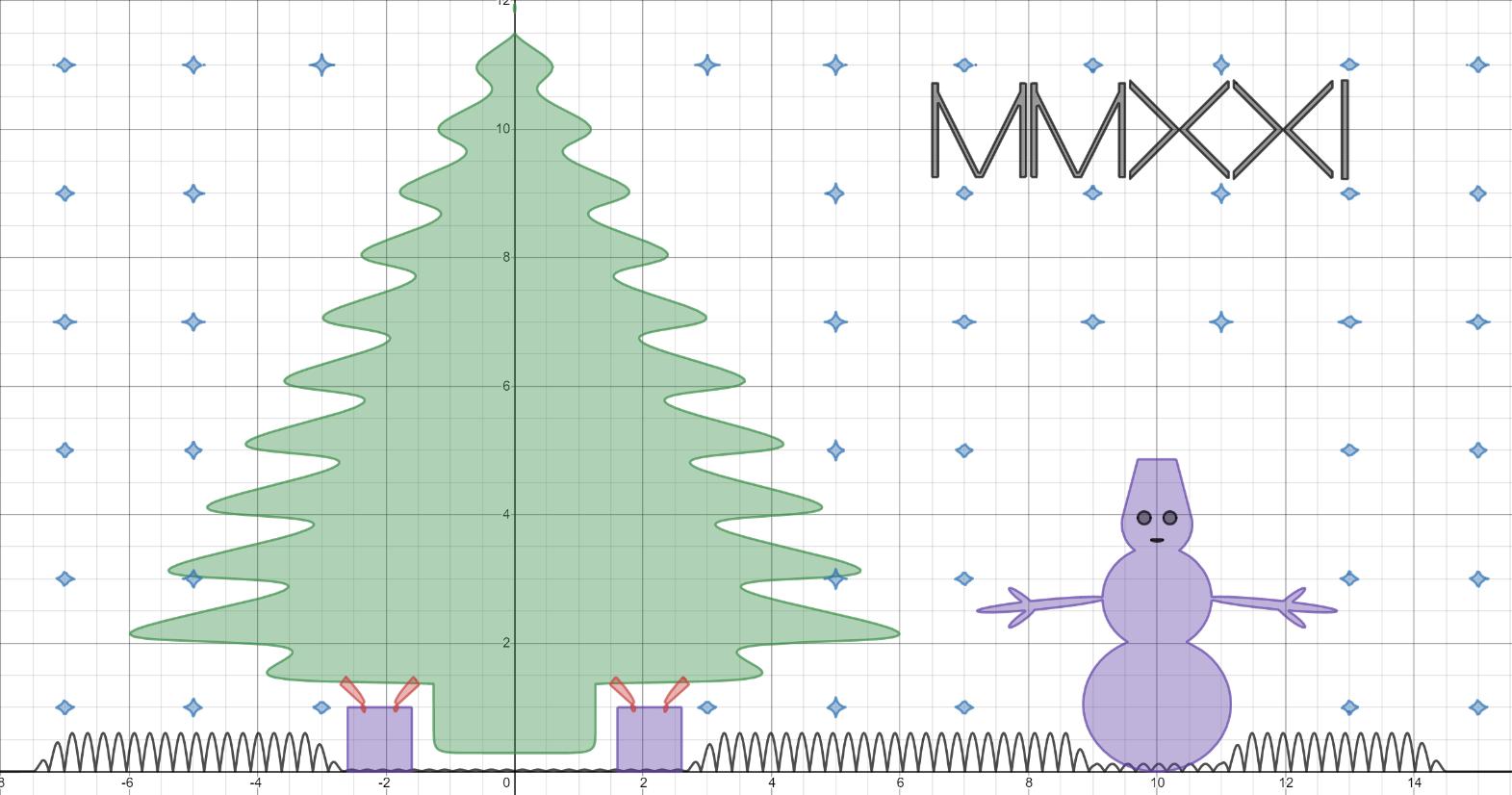 Как сделать ёлку, если ты математик - 1