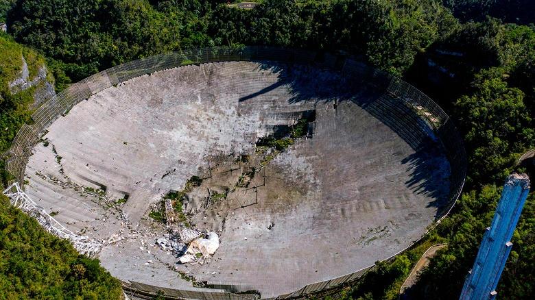 Культовому радиотелескопу «Аресибо» всё же могут дать вторую жизнь. Власти Пуэрто-Рико уже выделили деньги на реконструкцию