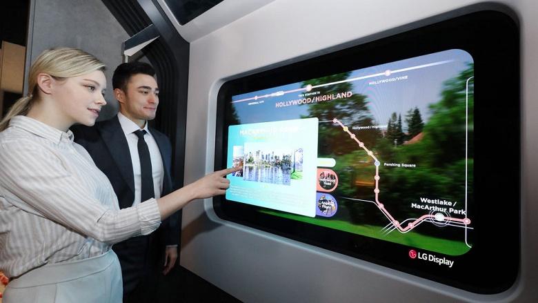 LG рассказала, для чего нужны прозрачные OLED-экраны