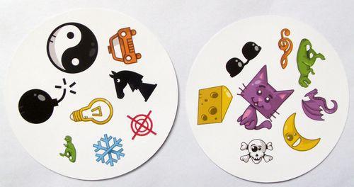Попробуйте сами: какой общий символ на карточках, показанных выше?