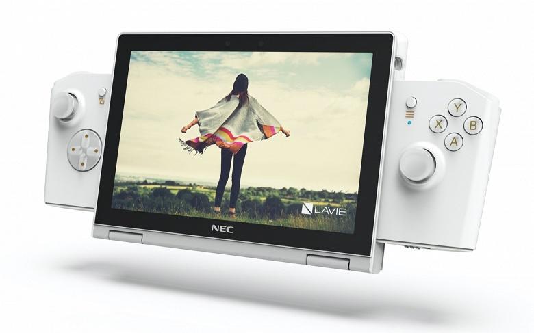 NEC и Lenovo представили LAVIE Mini. Это одновременно и 8-дюймовый ноутбук, и игровая консоль в духе Nintendo Switch