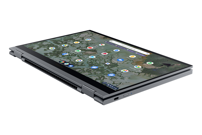 Представлен Samsung Galaxy Chromebook 2 за 550 долларов. Это первый в мире хромбук с экраном QLED