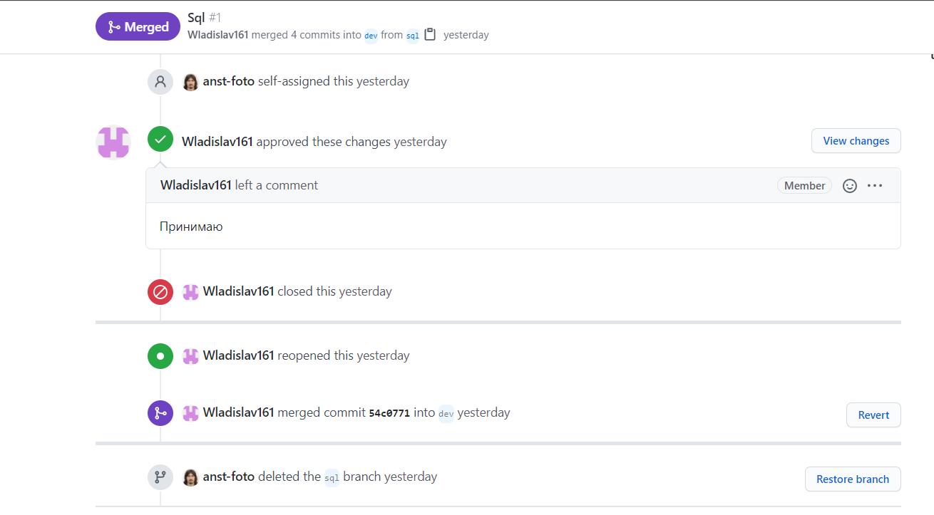 Использование GitHub в обучении. Примеры. Часть III - 11