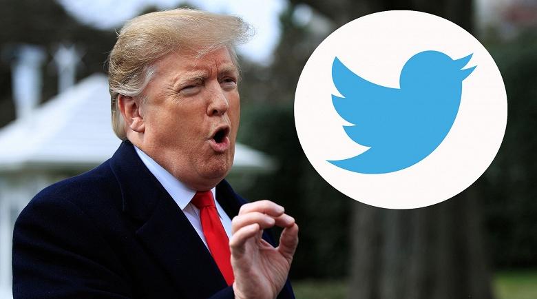 Twitter уже поплатился за блокировку Трампа. Акции компании рухнули