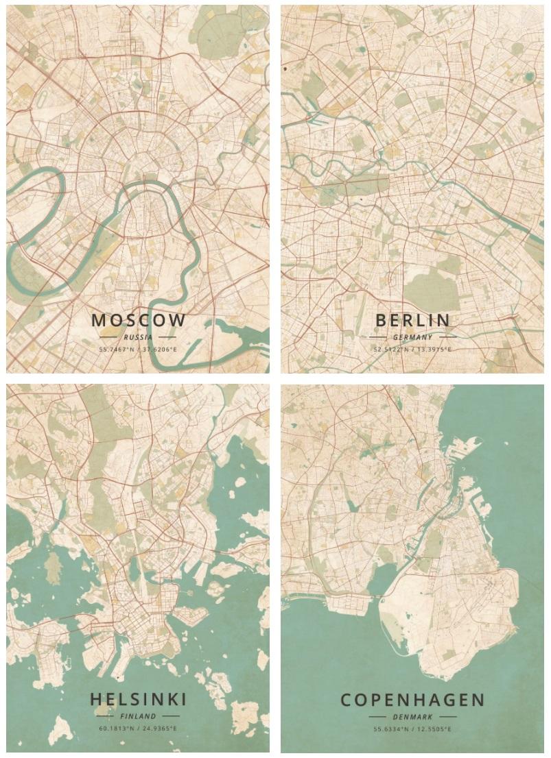 Москва — Берлин — Хельсинки — Копенгаген за 4 года - 1