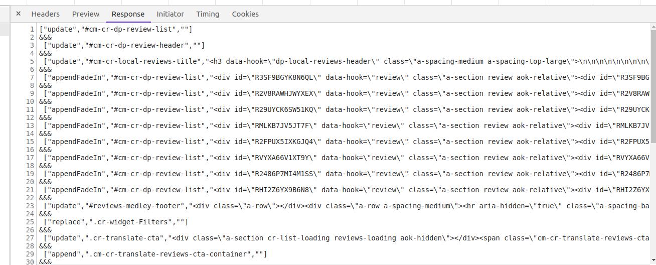 Скрапинг современных веб-сайтов без headless-браузеров - 5