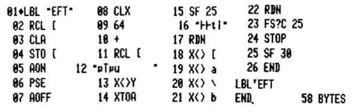 Архитектура и программирование микрокалькулятора HP-41 - 5