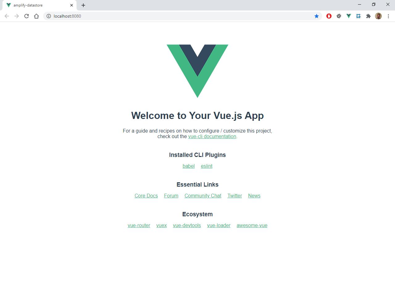 Пишем мессенджер на Vue в облаке Amazon - 2