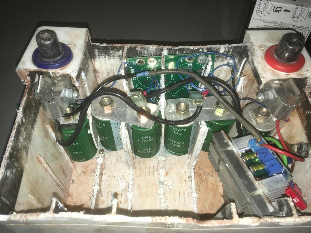 Ионисторы вместо стартерного свинцово-кислотного аккумулятора - 6