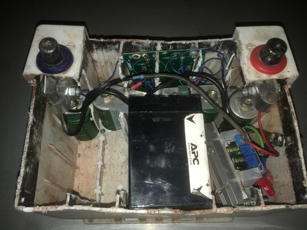 Ионисторы вместо стартерного свинцово-кислотного аккумулятора - 1