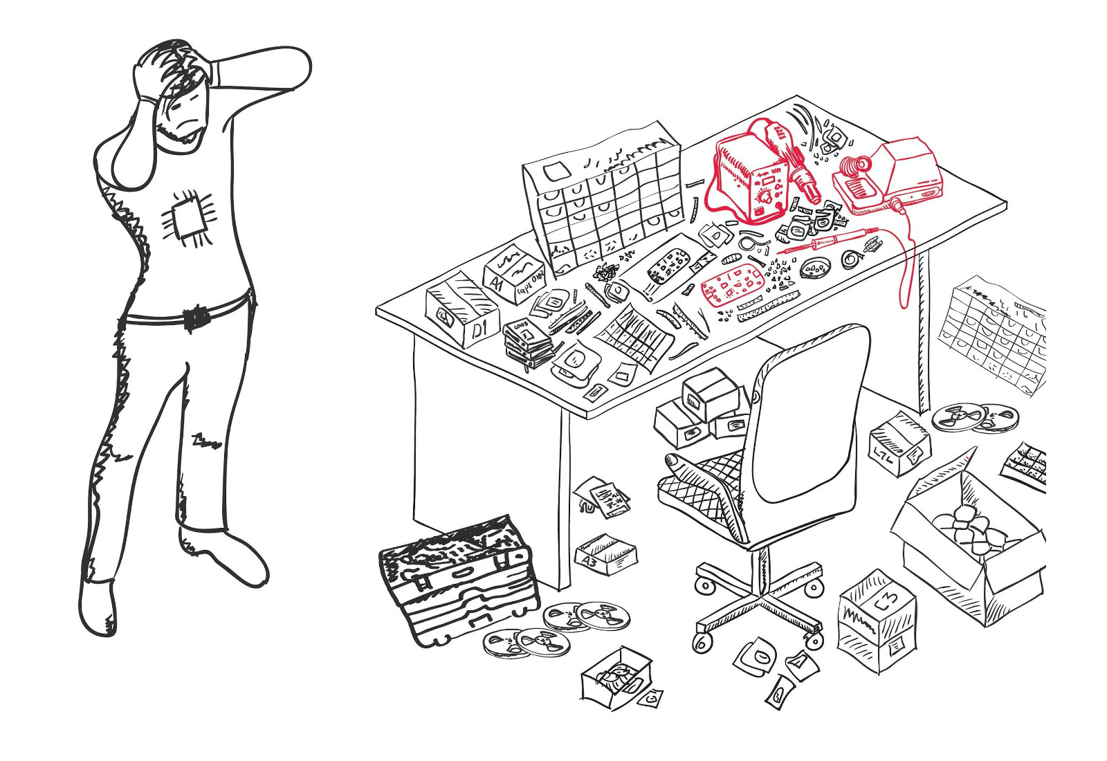Как я собрал «умный» органайзер для электронных компонентов - 1