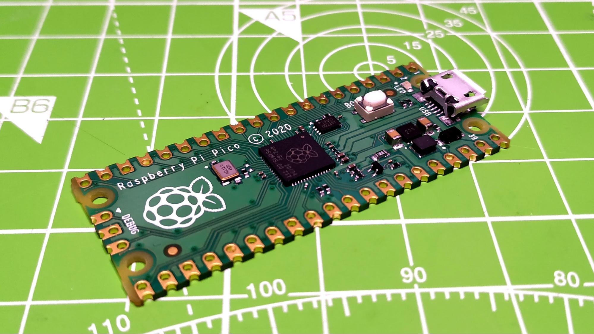 """Raspberry Pi Pico за $4 — на что способна новая плата от разработчиков """"малинок"""" - 8"""