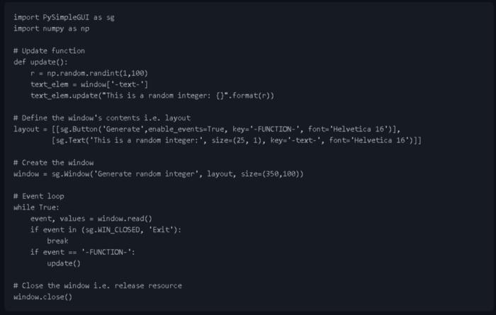 Как сделать Data Science приложение для Windows (и не только) с графическим интерфейсом с помощью PySimpleGUI - 3