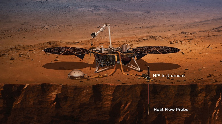 «Крот» NASA так и не смог пробурить Марс. Учёные оставляют попытки использовать инструмент аппарата InSight