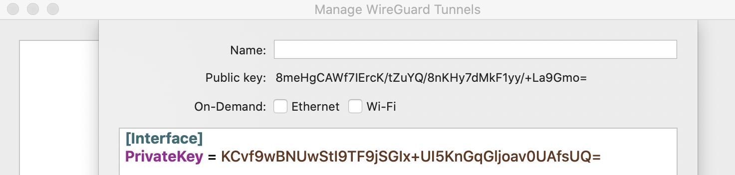 Wireguard для MAC: win или fail? - 2