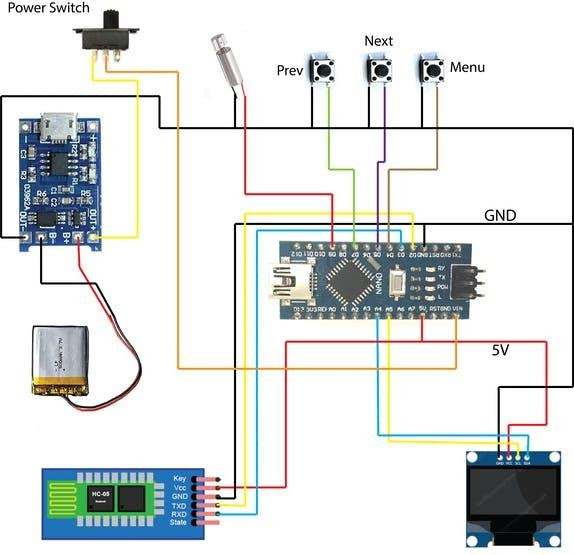 Умные часы на Arduino, поддерживающие Bluetooth - 8