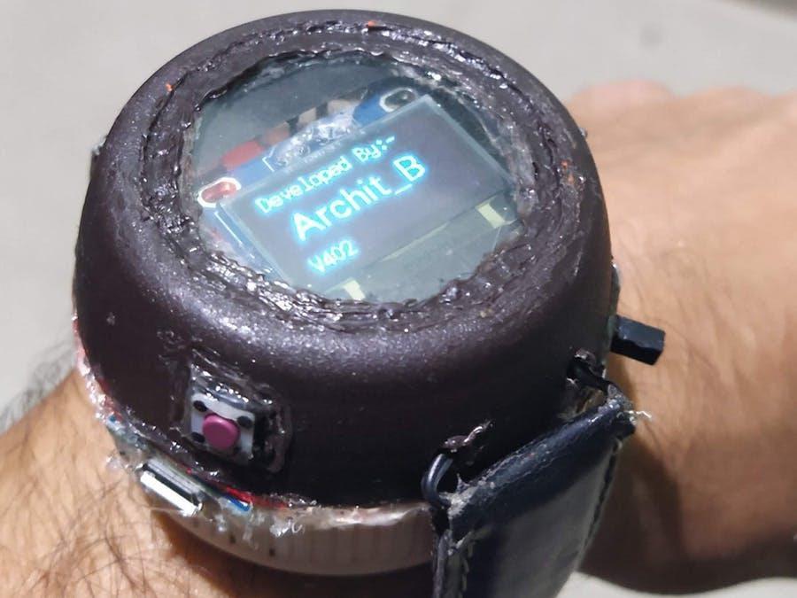 Умные часы на Arduino, поддерживающие Bluetooth - 1