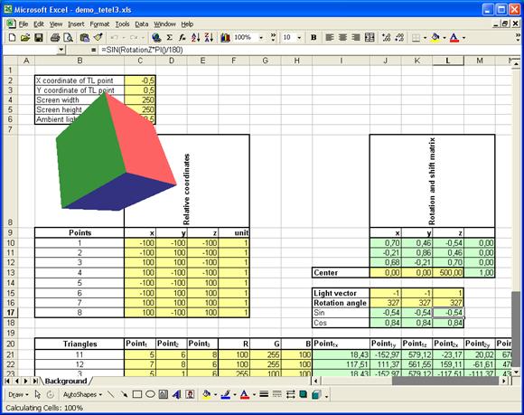 Microsoft Excel: революционный игровой 3D-движок? - 9