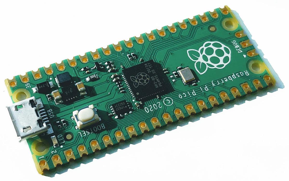 Raspberry Pi Pico на МК RP2040: начало и первые шаги. Что есть поесть за $4 - 1