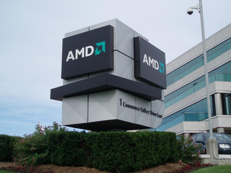 Чистая прибыль AMD за год выросла на порядок