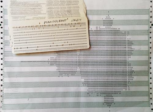 12-минутный Мандельброт: фракталы на 50-летнем мейнфрейме IBM 1401 - 8