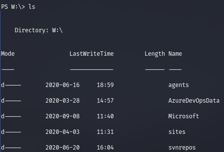 HackTheBox. Прохождение Worker. Работаем с SVN. Используем Azure DevOps для захвата хоста - 29