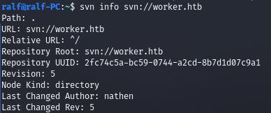 HackTheBox. Прохождение Worker. Работаем с SVN. Используем Azure DevOps для захвата хоста - 4