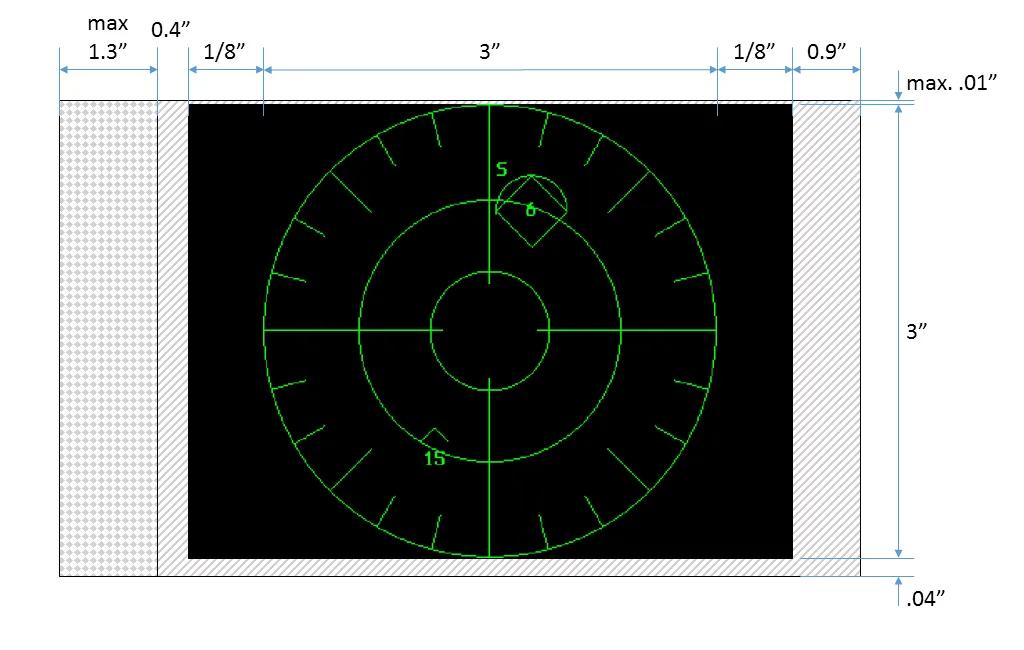 Симуляция радара истребителя на 3″ осциллографической ЭЛТ - 9