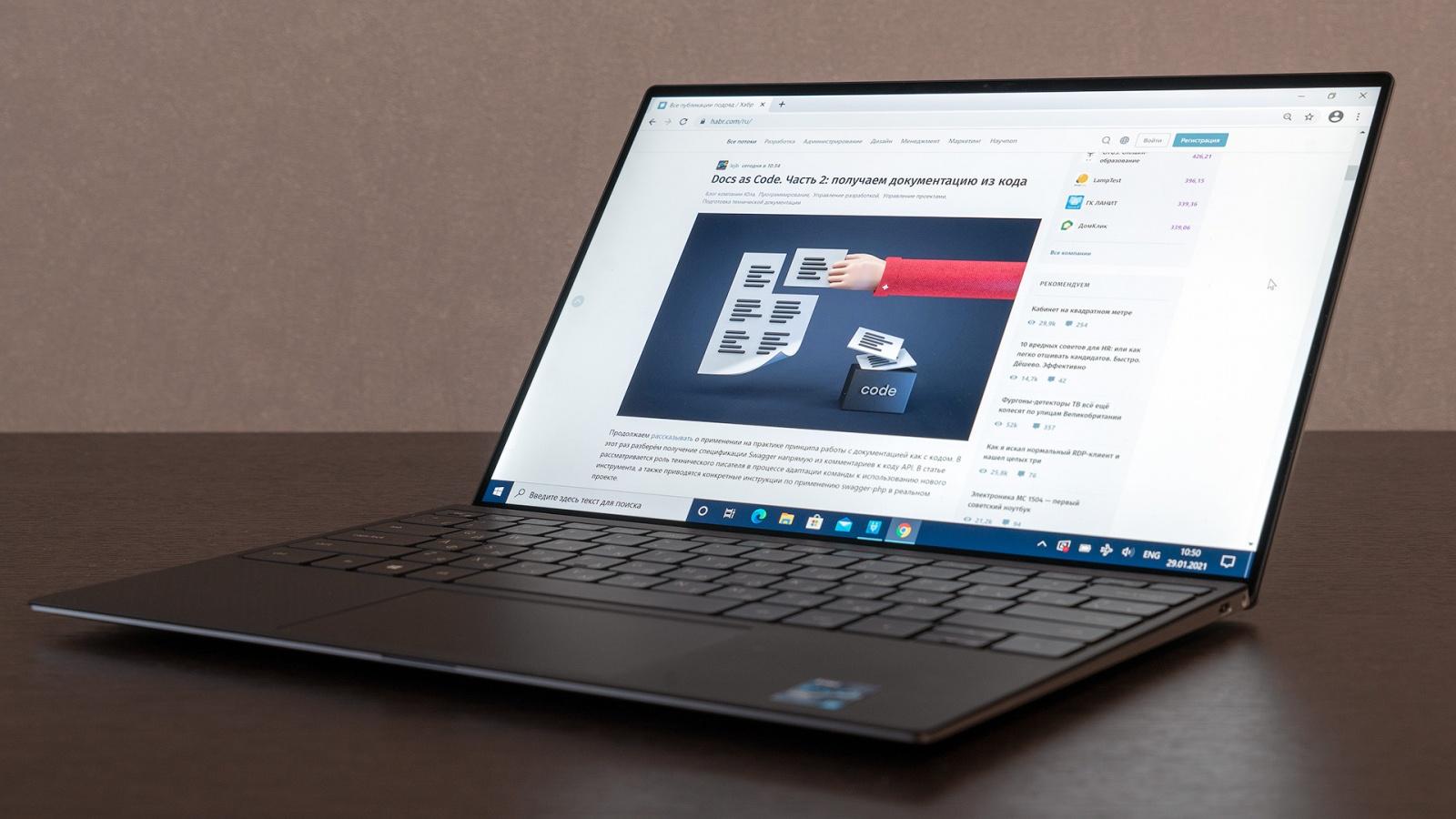 XPS 13 9310: эволюционный апгрейд флагманского ультрабука Dell с Tiger Lake внутри - 16