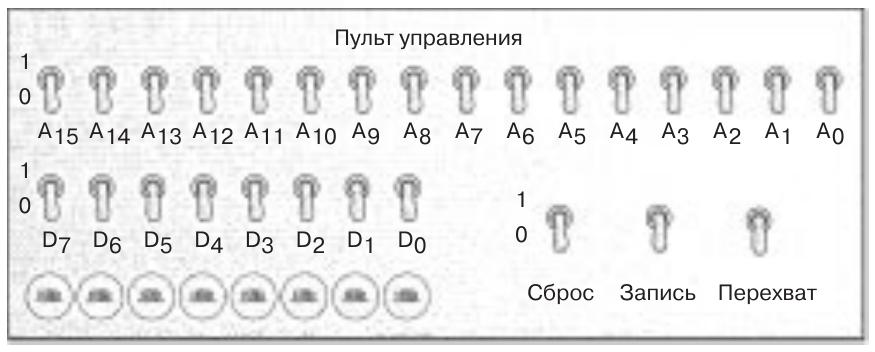 Реализация процессорной архитектуры из книги Чарльза Петцольда «Код. Тайный язык информатики» - 1