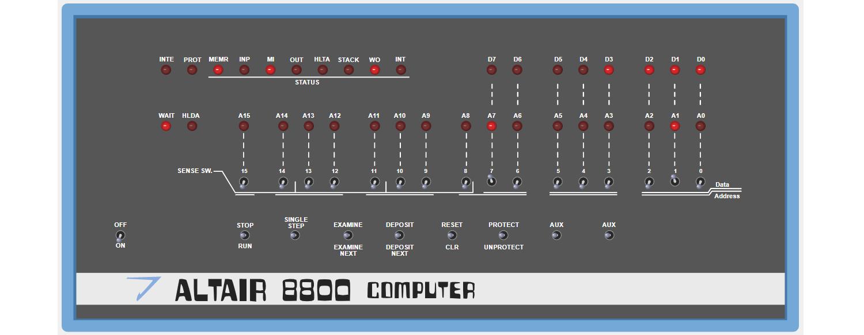 Пишем программу для компьютера ALTAIR 8800 1975г выпуска - 5