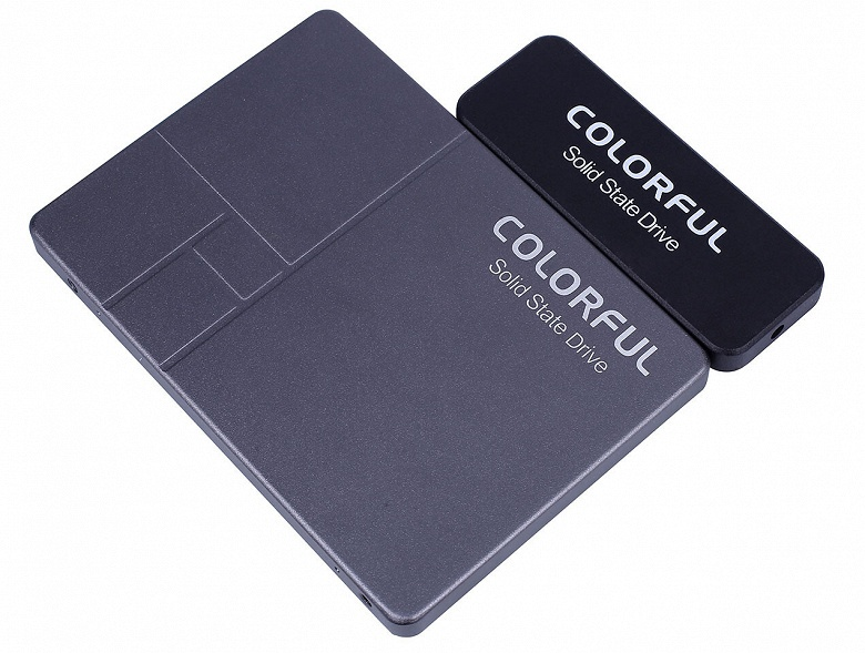 Colourful SL500 Mini — сильно укороченный твердотельный накопитель типоразмера 2,5 дюйма