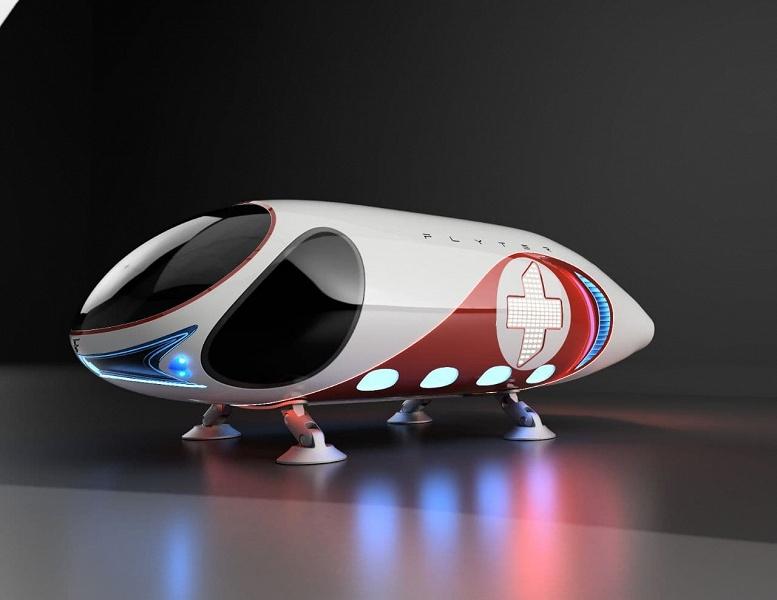 От создателей «летающего батона» из Воронежа: проектируются аэромобили Flyter для скорой помощи и полиции
