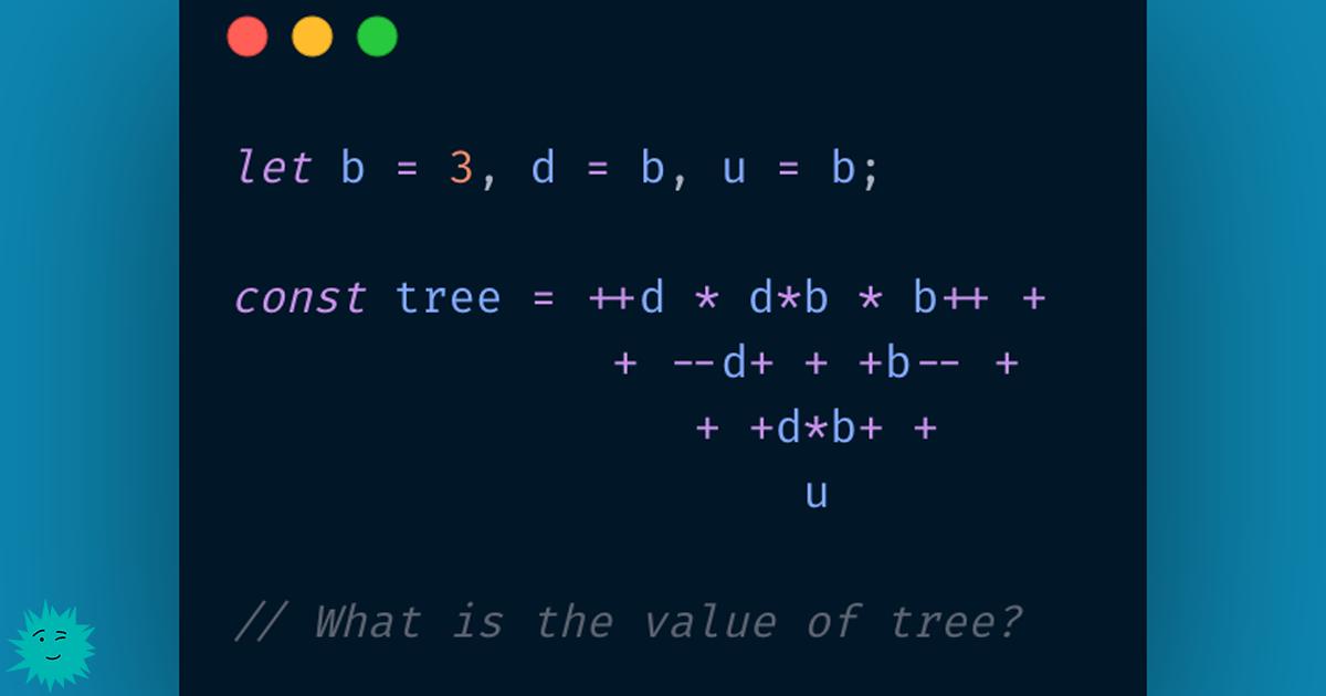 Решение забавной задачки на JavaScript - 1