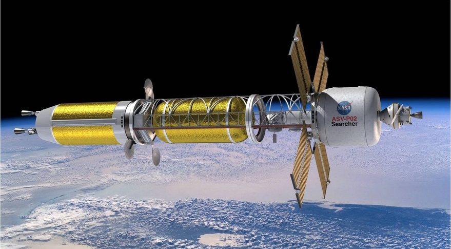 НАСА: проложить путь людям на Марс может лишь ракета с ядерным реактором - 2